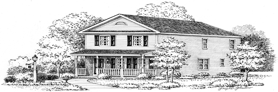 Intown House Sketch